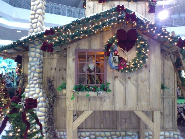 Christmas decoration in MogiShopping in Mogi das Cruzes city