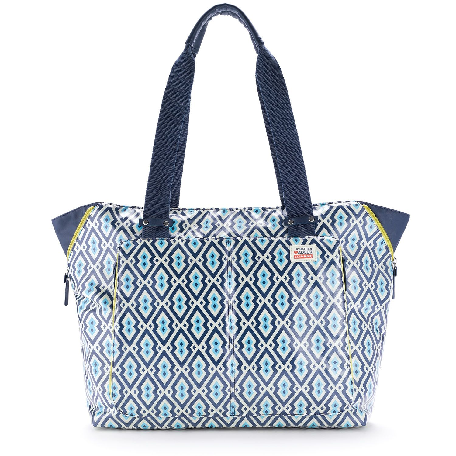 Skip Hop Jonathan Adler ♥ Skip Hop - I have owned more diaper bags than I can count, and this one is by far my favorite!