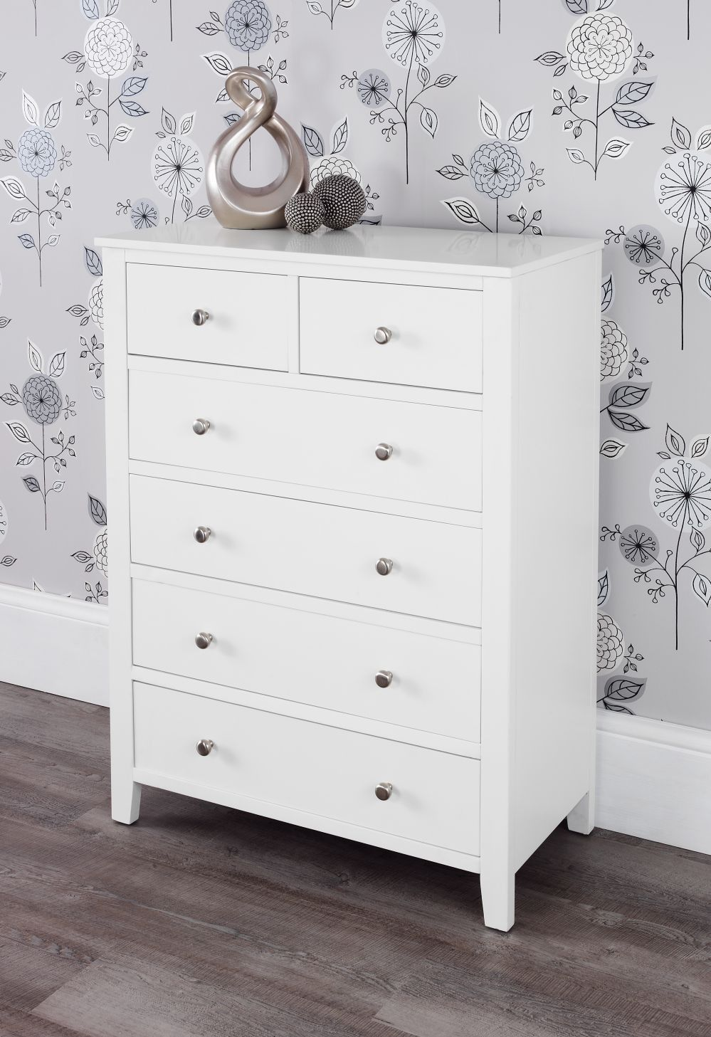 Brooklyn white chest of drawers | Declans bedroom | Pinterest ...