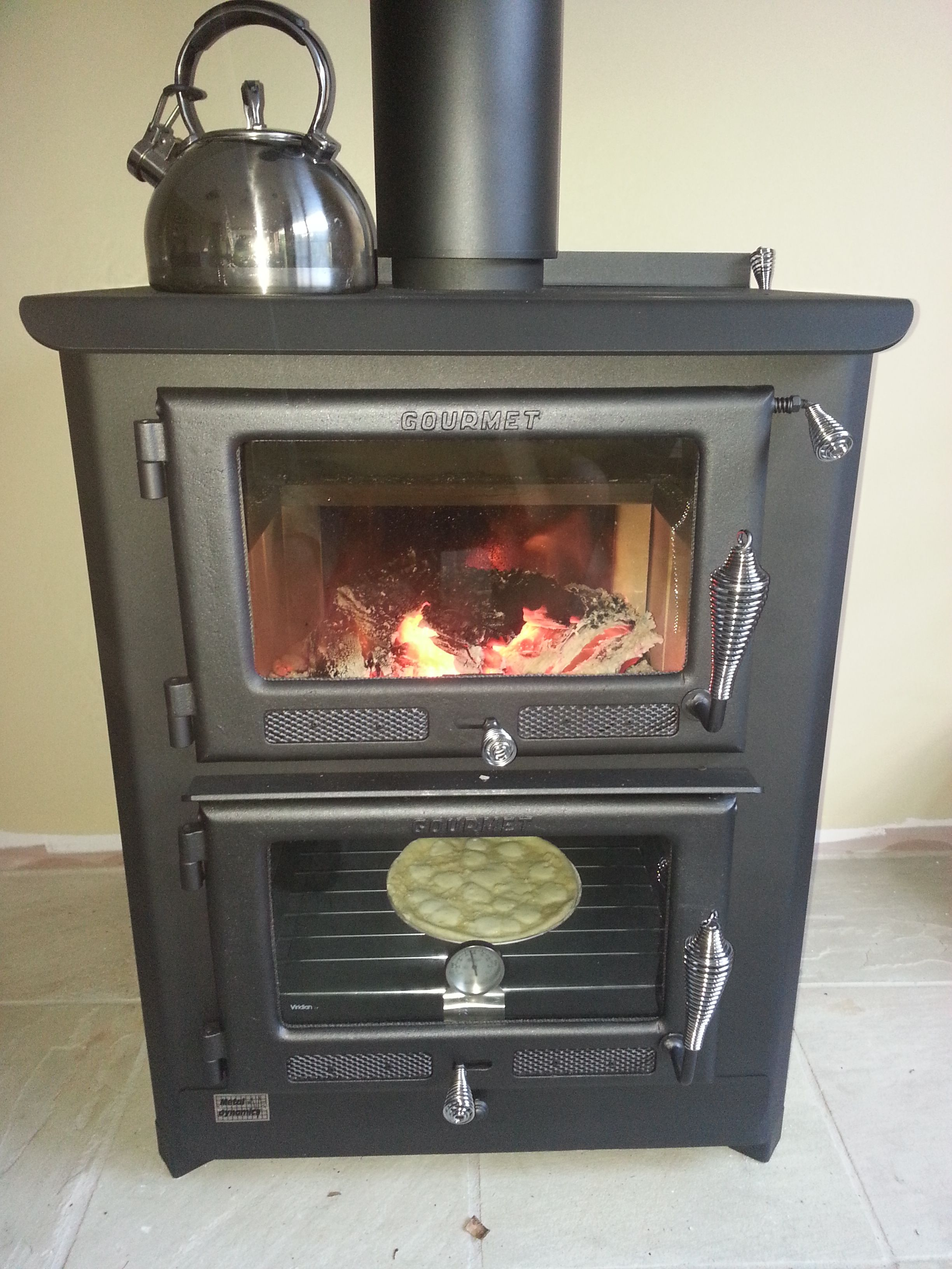 Thermalux Gourmet Cooker  All Fired Up 5Kw Boiler, Warming