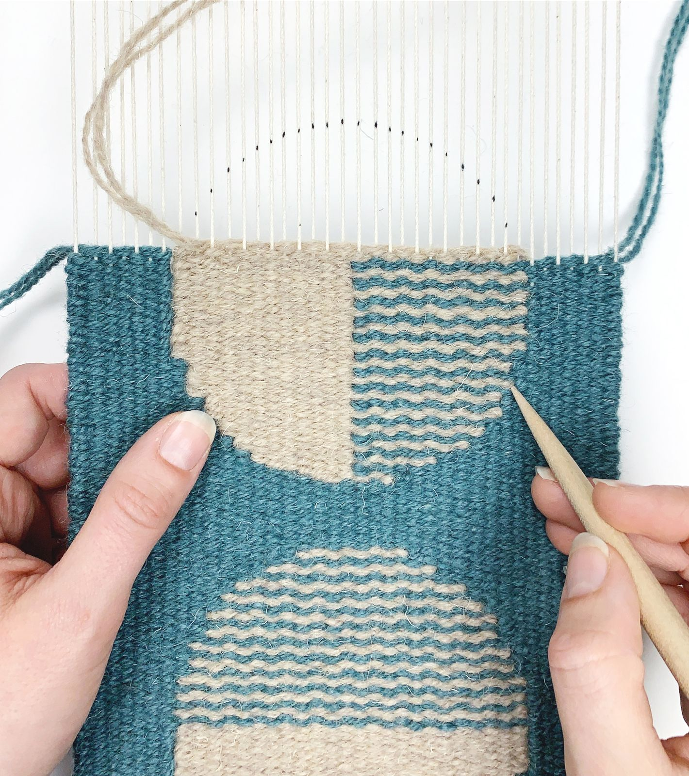 Geometric Tapestry Weaving Online Course