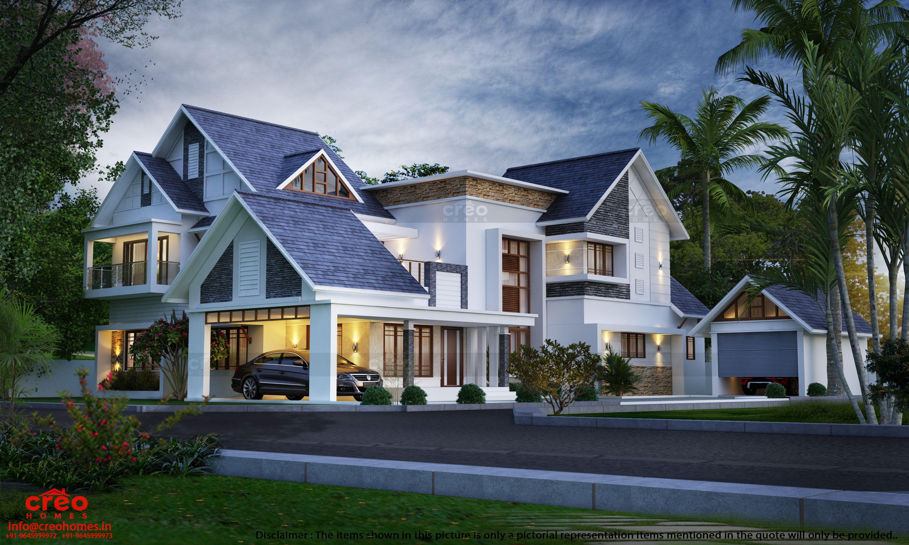 Creative Home Designs In Kerala In 2020 House Architecture