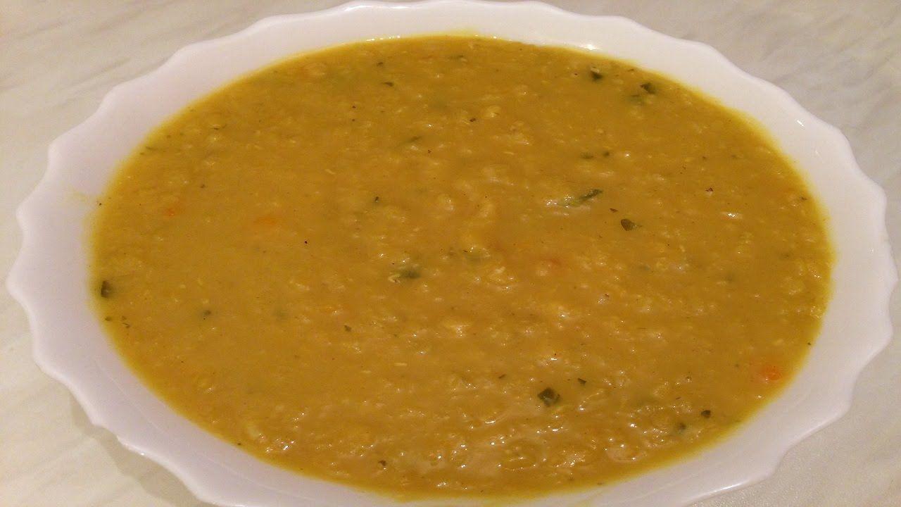 How To Make Lebanese Red Lentil Soup وصفات رمضانية طريقة تحضير شوربة العدس الاصف Lentil Soup Recipes Middle Eastern Lentil Soup Recipe Green Lentil Recipes