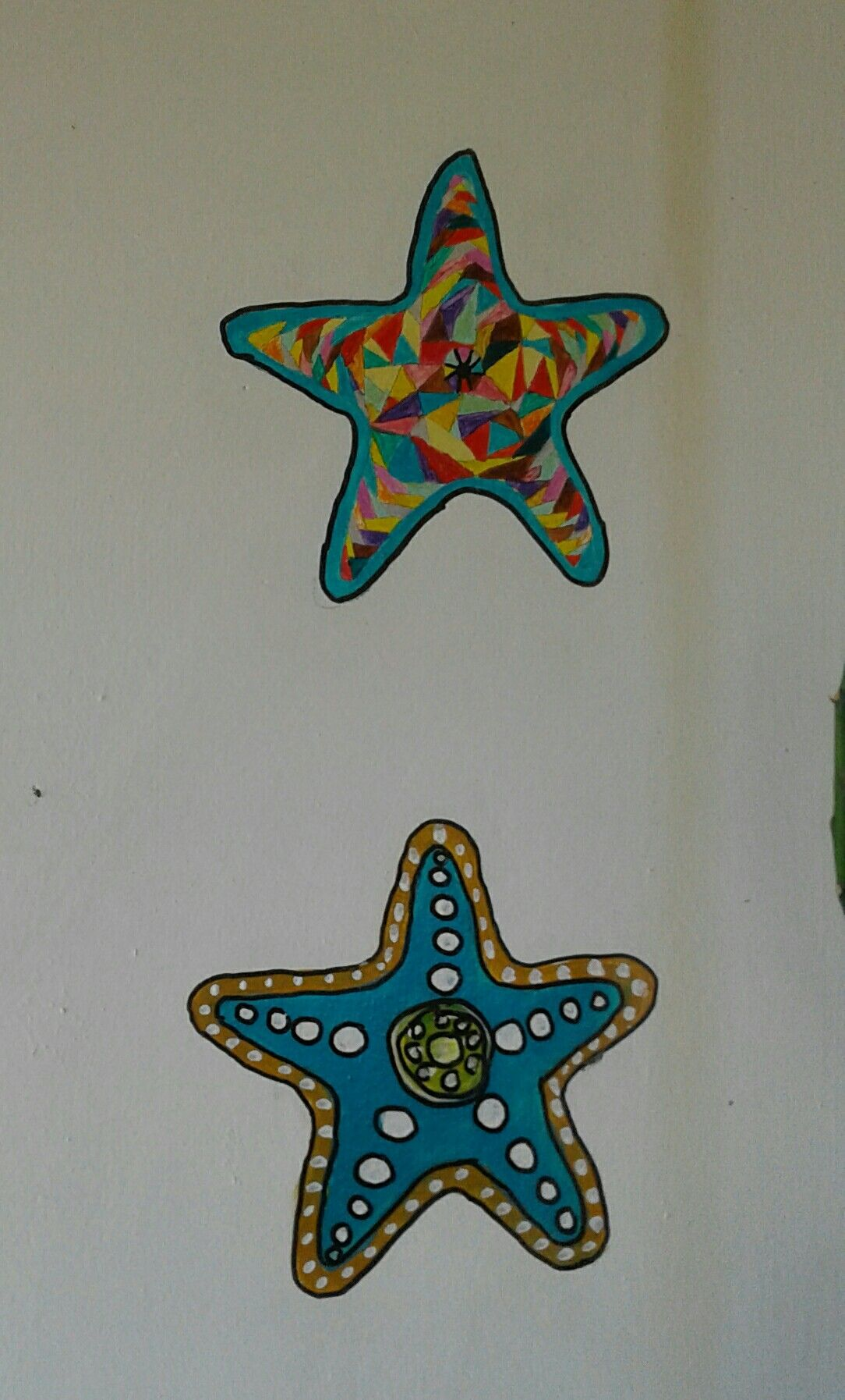 Deniz Yıldızı Duvar Boyama Pandora Pinterest