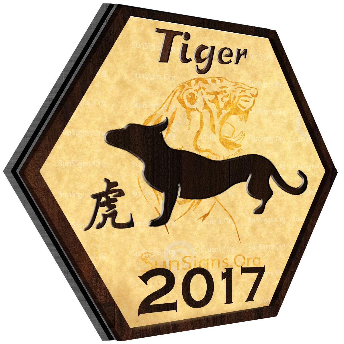 Chinese zodiac 2017 tiger