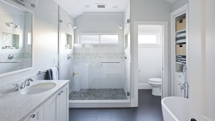 Shower Design Ideas for a Bathroom Remodel Vaulted ceilings