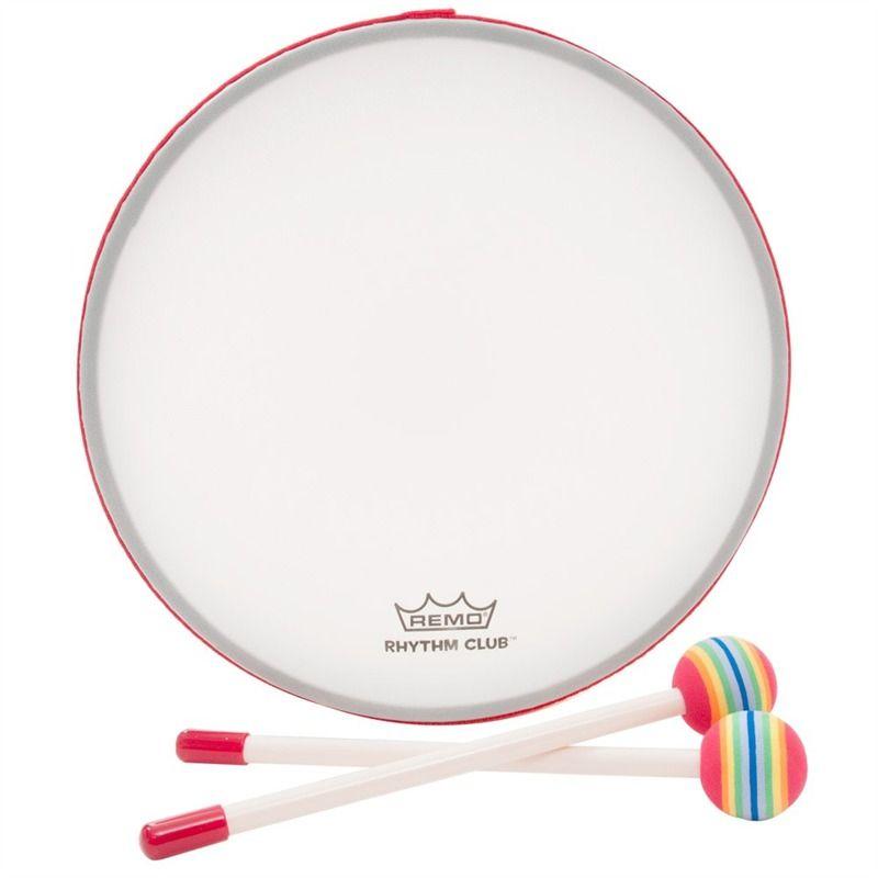Remo Rhythm Club RH-0110-00 Pretuned Frame Drum, 1\
