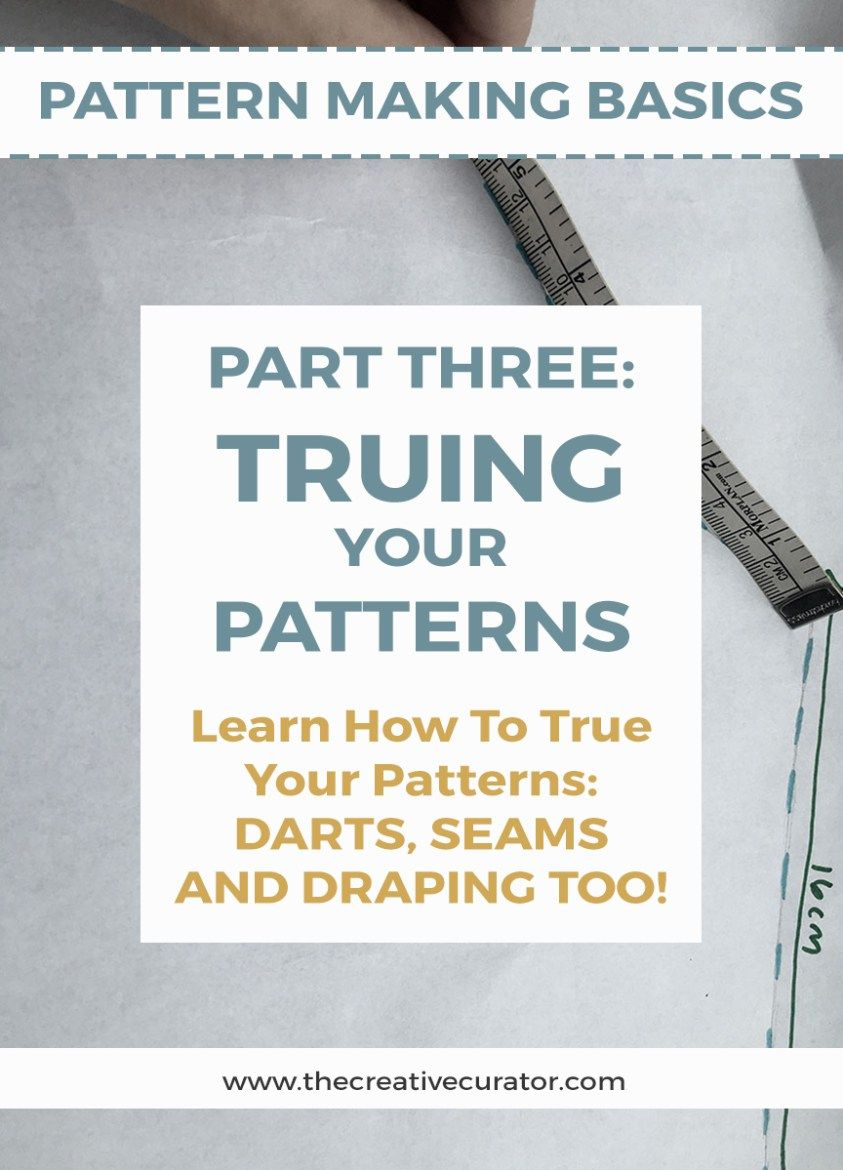 How To Be All Trued Up: Truing Darts, Seams And Then Some | Nähen