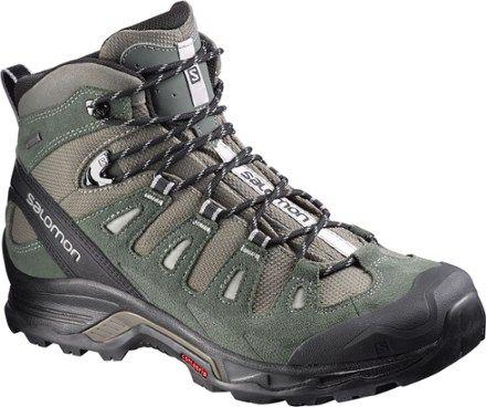 c9b91a5c7749 Salomon Men s Quest Prime GTX Hiking Boots Swamp Night Forest 11.5