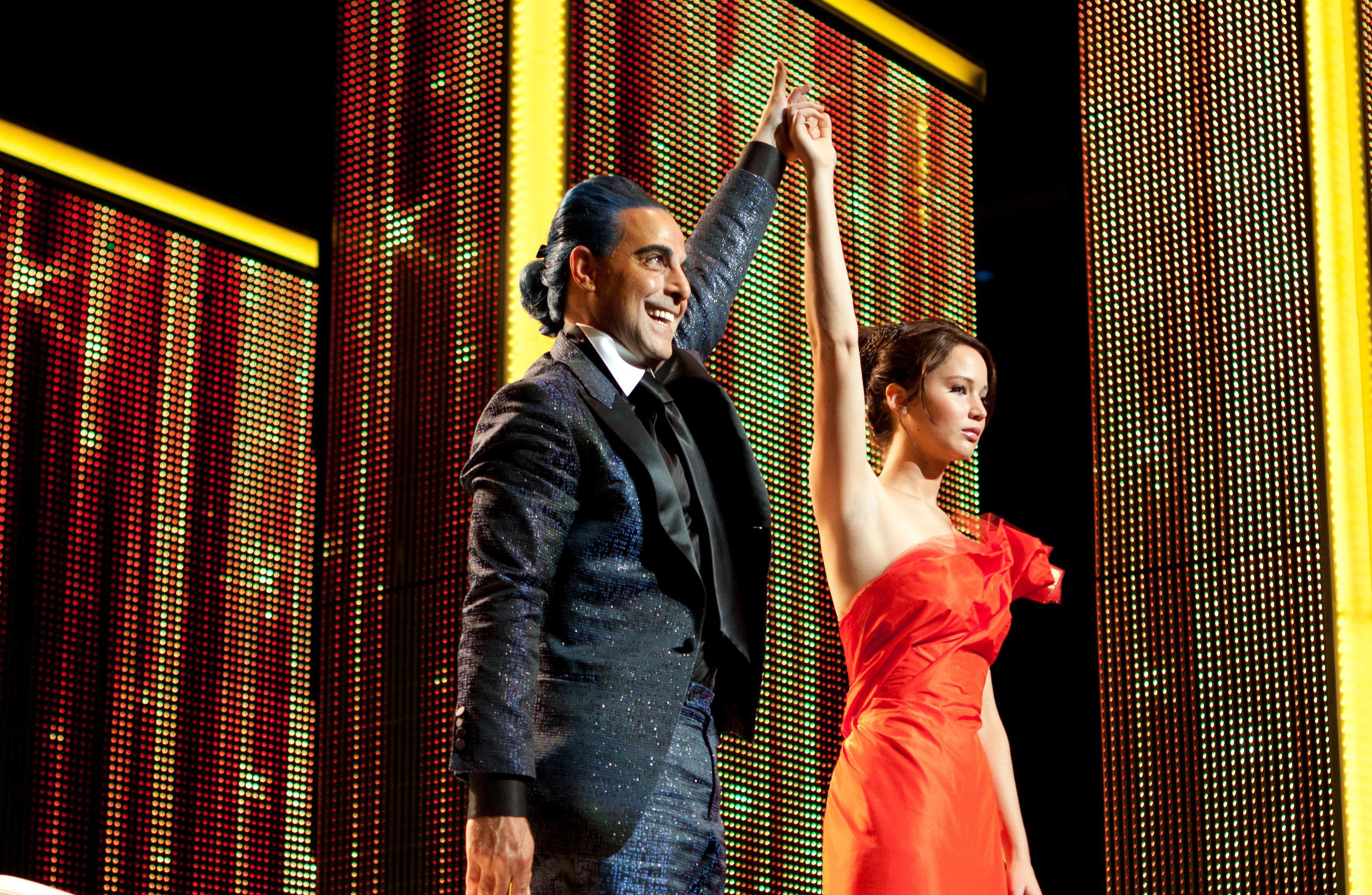 Jennifer Lawrence as Katniss   The Hunger Games