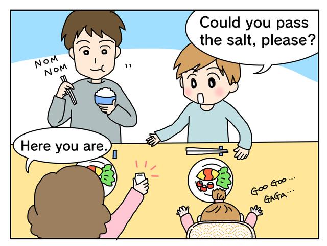 おすすめ英会話フレーズ 親子で言ってみよう 食事編 英会話