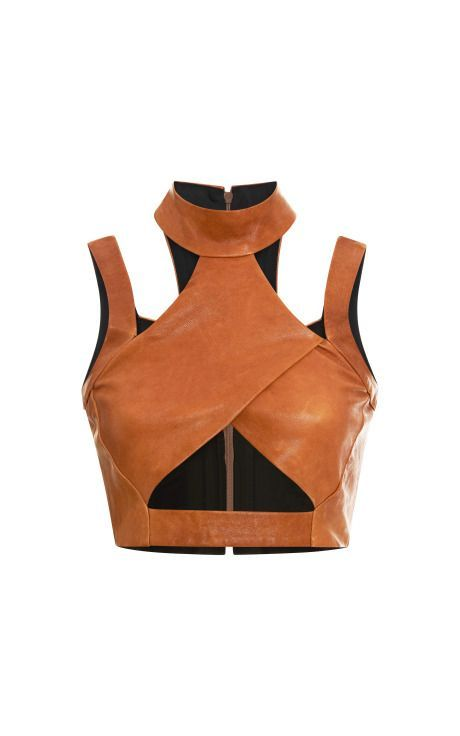leather woman top | Fashion, Leather fashion, Fashion outfits
