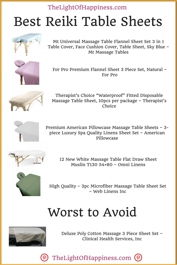 9 Best Table Sheets Plus 1 To Avoid 2020 Buyers Guide Reiki