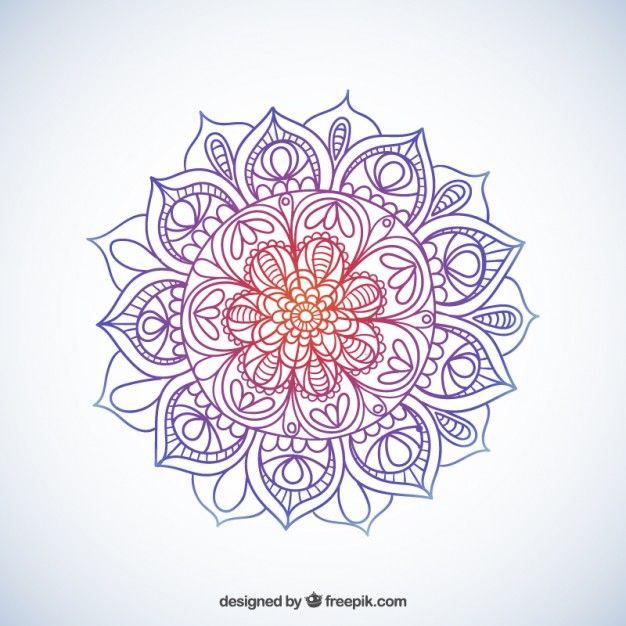 Mandala Sommaire Colorful Mandalas Zentangle And