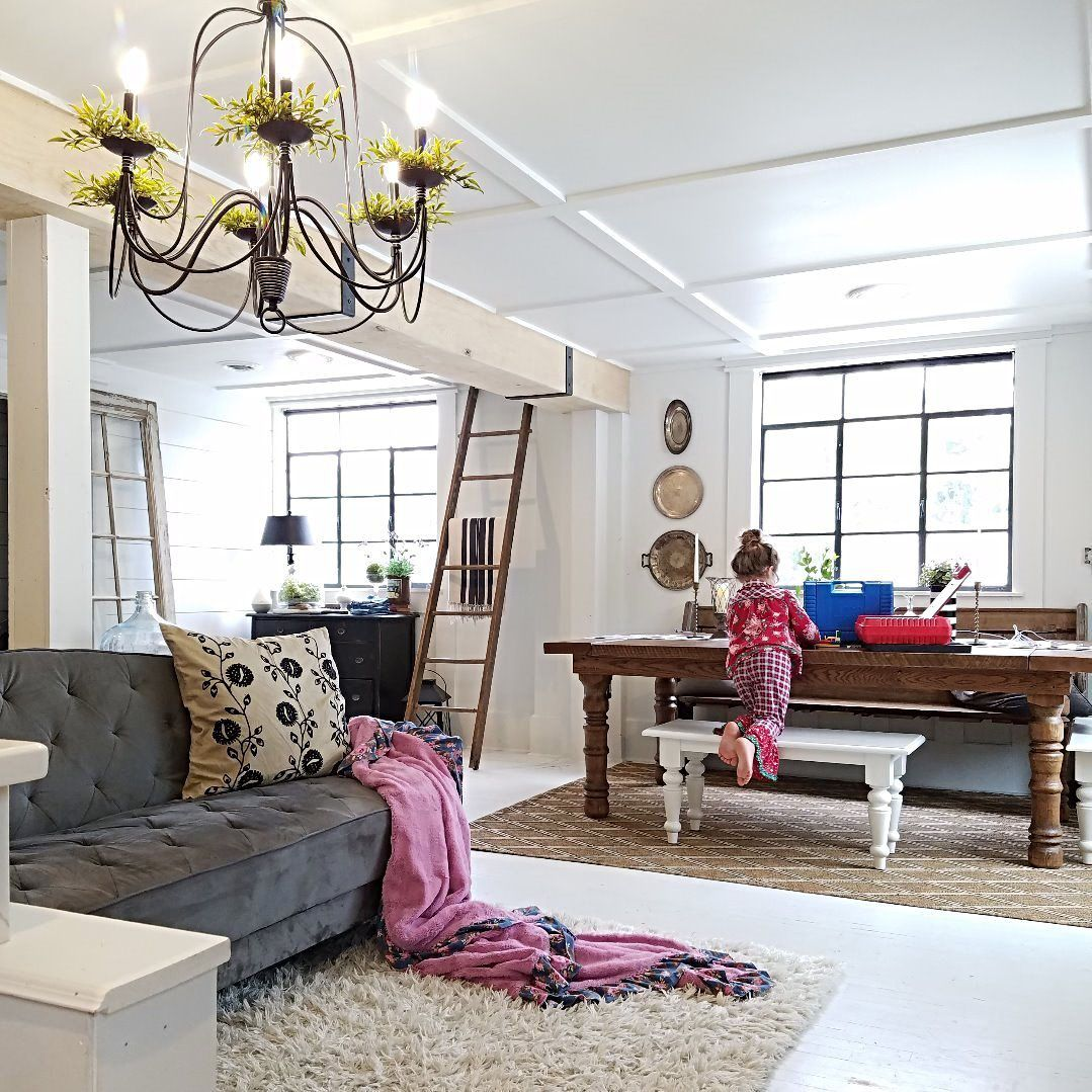 Open Concept Room Makeover