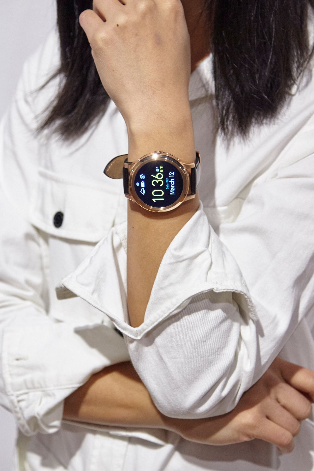 Technology Management Image: @kristengracelam Sporting Our Q Founder Smartwatch At SXSW