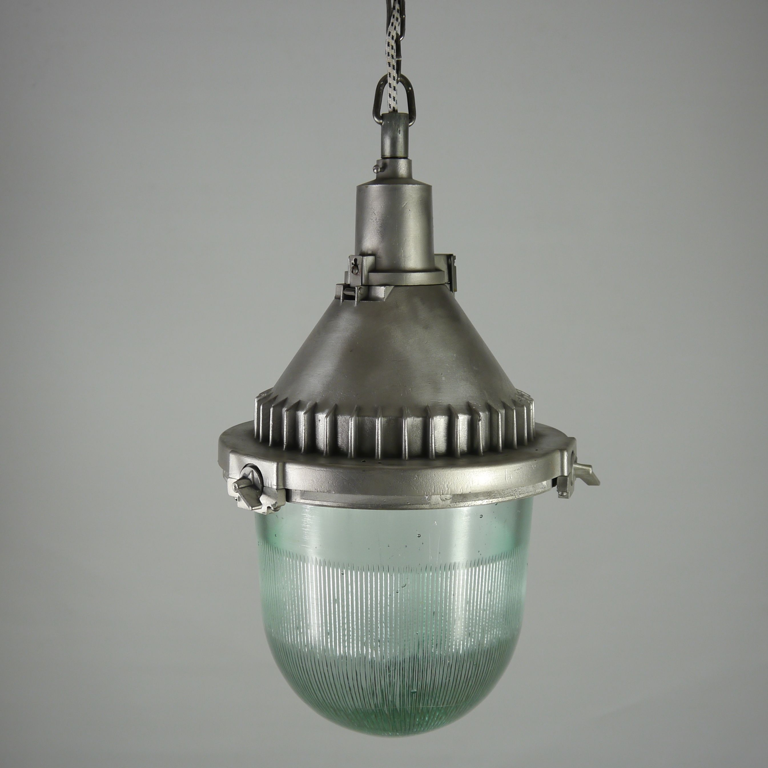 An industrial pendant light recovered from a factory in russia an industrial pendant light recovered from a factory in russia dating from the rewired the fittings incorporate an screw fit bulb holder and new black arubaitofo Gallery