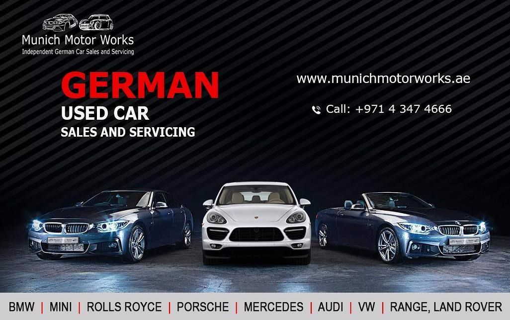 Looking to buy German used cars Dubai? munich car trading