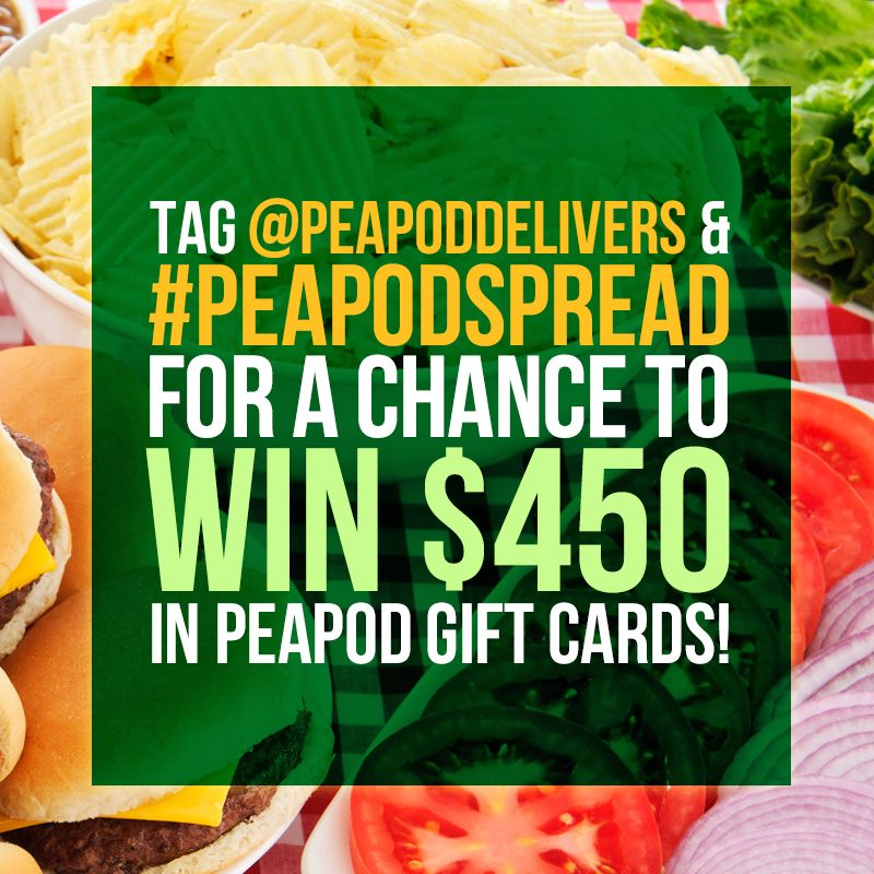 We're kicking off summer with the chance to win Peapod Gift Cards ...