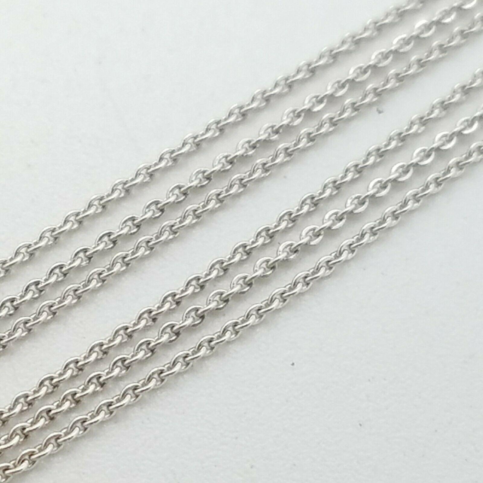 Rci White Gold 14k Thin Classic Link Chain Necklace 16 Inch Turkey White Gold Necklace Ideas Of White Gold Necklace Whiteg