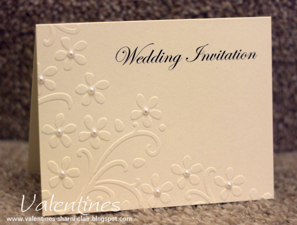 Stampin Up Wedding Invitations: Stampin Up Wedding Invitations