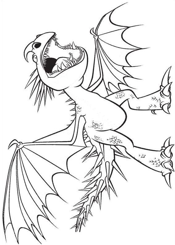 33 Disegni Di Dragon Trainer 1 E 2 Da Colorare Dragons Trainer