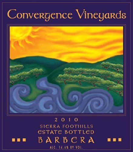 2010 Convergence Vineyards Estate Bottled Sierra Foothills Barbera 750 mL *** You can get more details by clicking on the image.