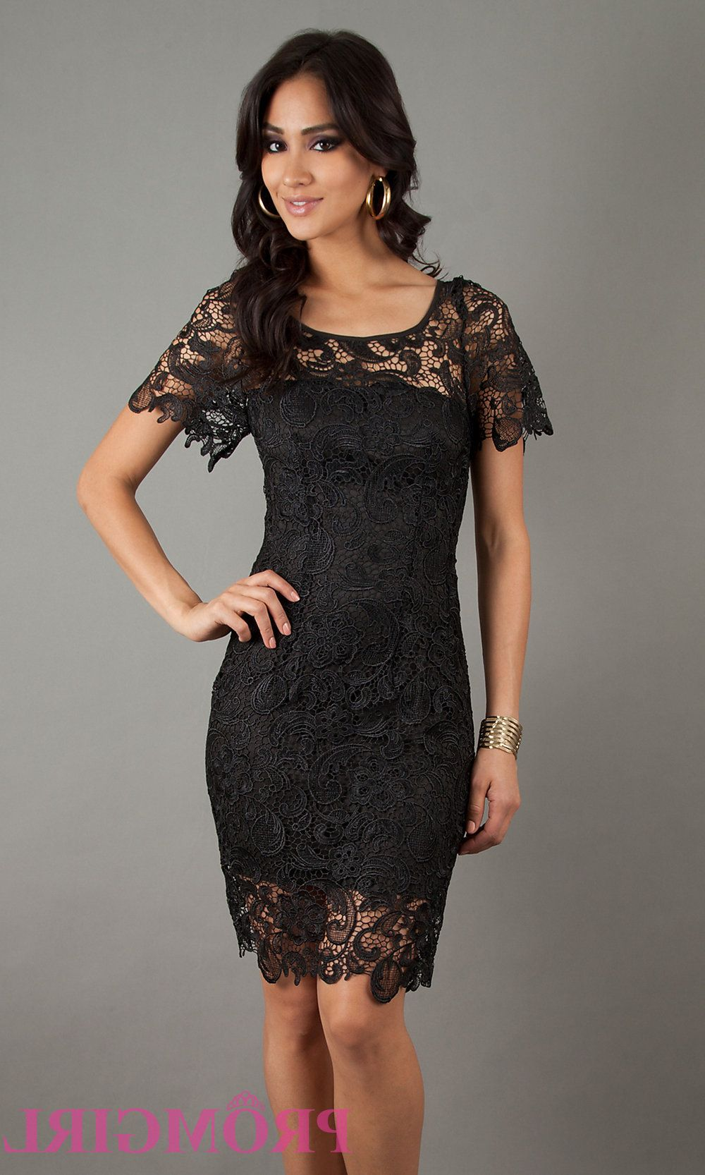 Black evening dresses with short sleeves longsleeve dress
