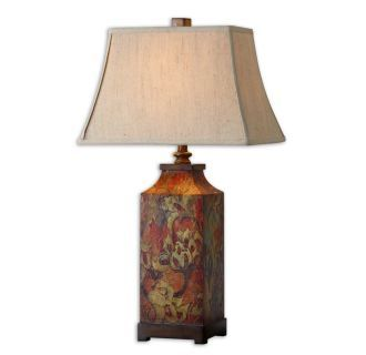View The Uttermost 27678 Colorful Flowers Table Lamp By Grace
