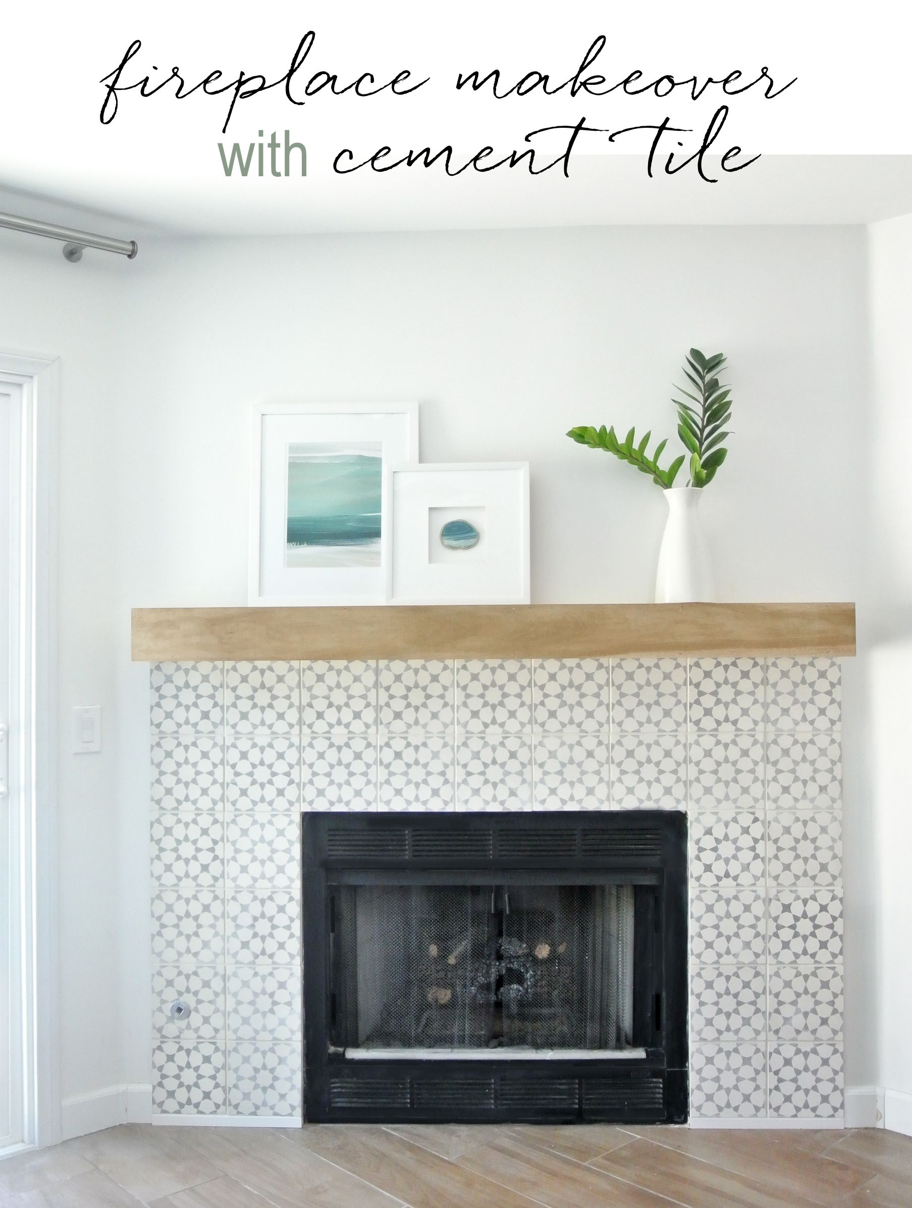 cornice product concrete fireplace cast transitional surround o tile solus mantel decor portabello
