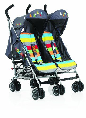 Baby Pushchairs Cosatto Ditto Twin Stroller (Get Set Go)