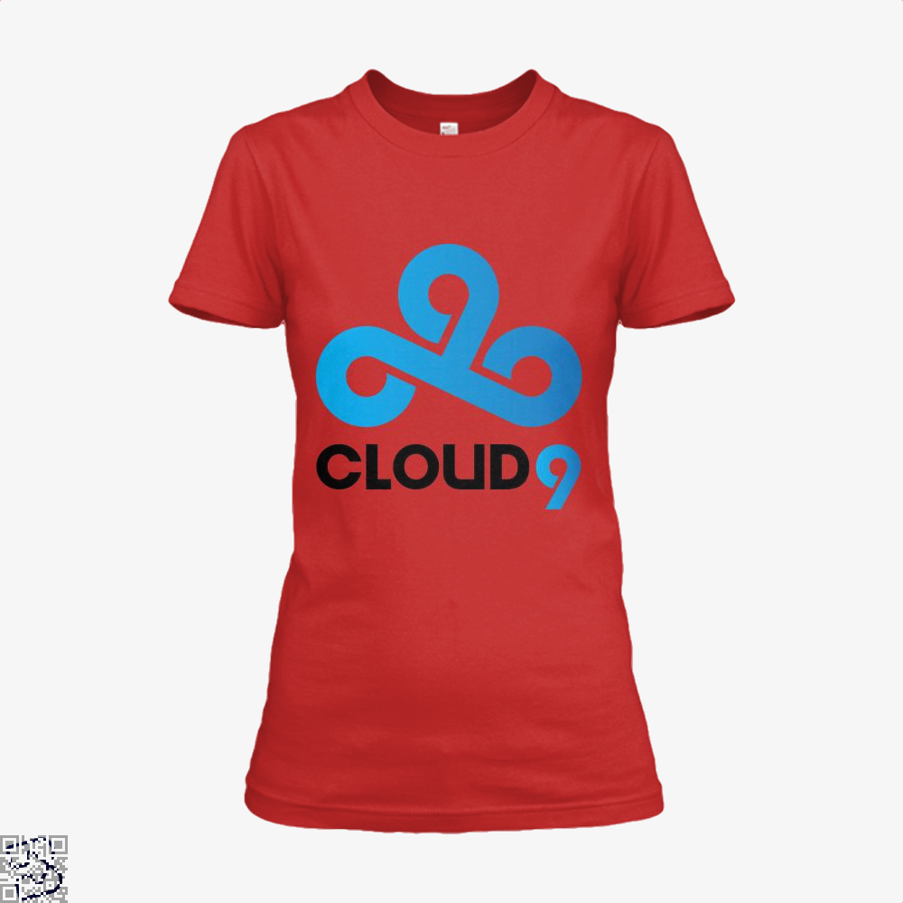 Cloud9, Dota2 LCS EU SPRING2018 Team Logo Shirt Logo