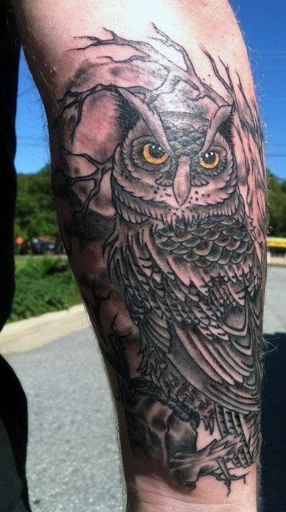 Top 63 Owl Tattoo Ideas 2020 Inspiration Guide Mens Owl Tattoo Owl Tattoo Design Owl Tattoo