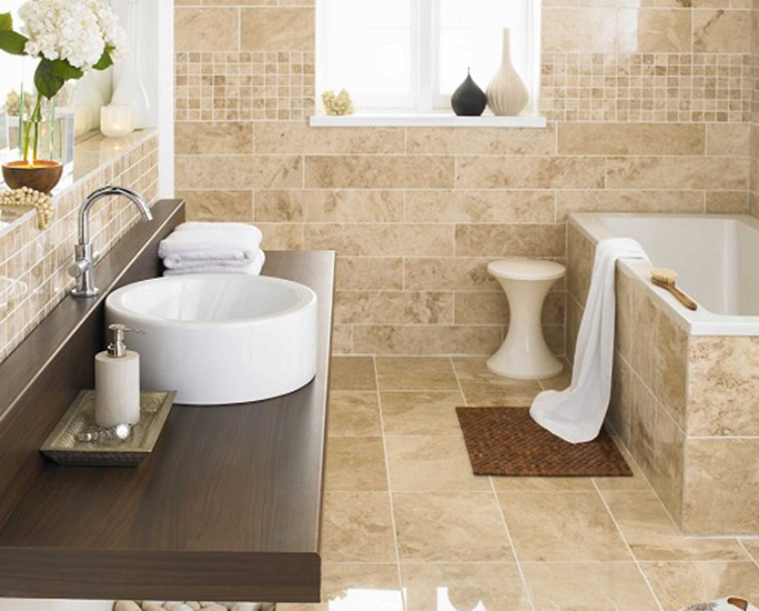 Your bathroom wall tiles are going to cover a significant amount of space so choosing the right - Things to consider when choosing bathroom tiles ...