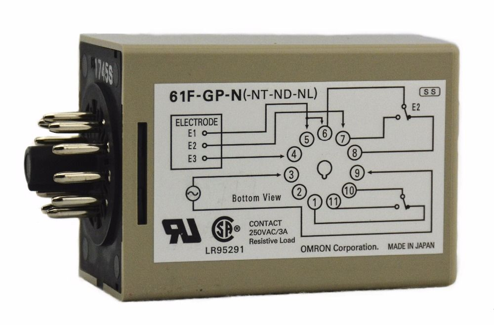 61f Gp N Ac110v 3 5a 50 60hz Omron Relay Electronic Component Solid State Relays Water Level Controller Electronics Components Electrical Equipment Relay