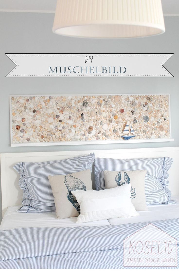 Photo of DIY shell painting