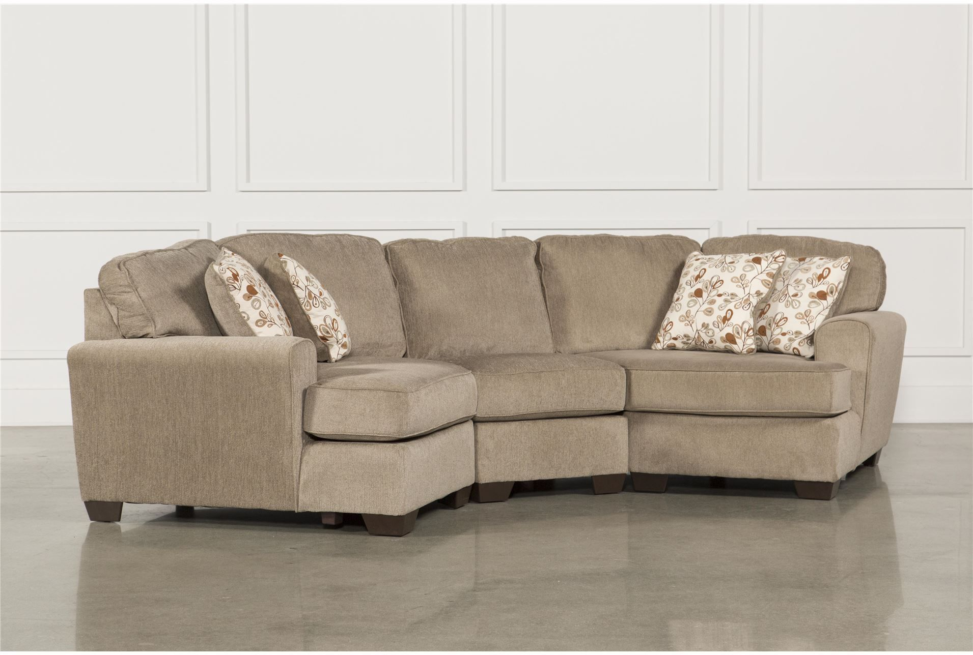 Best Patola Park 3 Piece Sectional W 2 Cuddlers Dimensions 152 400 x 300