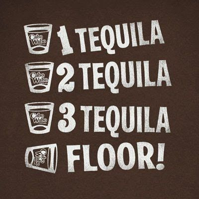 Tequila counting #tequila #quotes #humor #alcohol