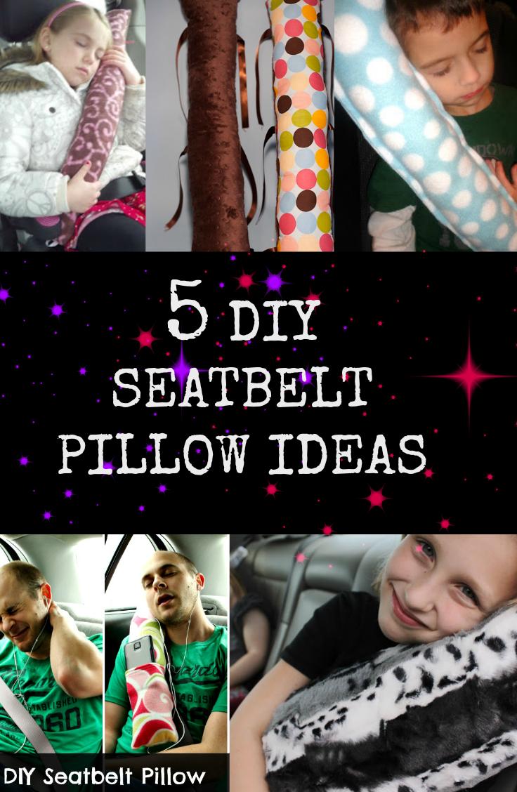 5 Diy Seatbelt Pillow Ideas Sewing Pillows Seat Belt