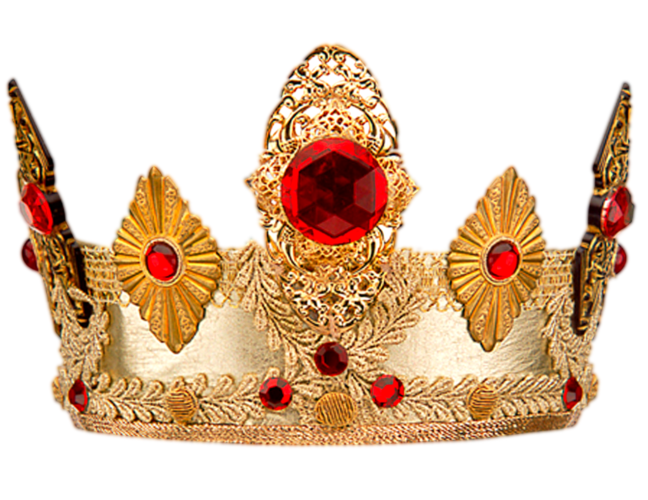 Golden Crown With Stone Crown Png Free Clip Art Queen Crown