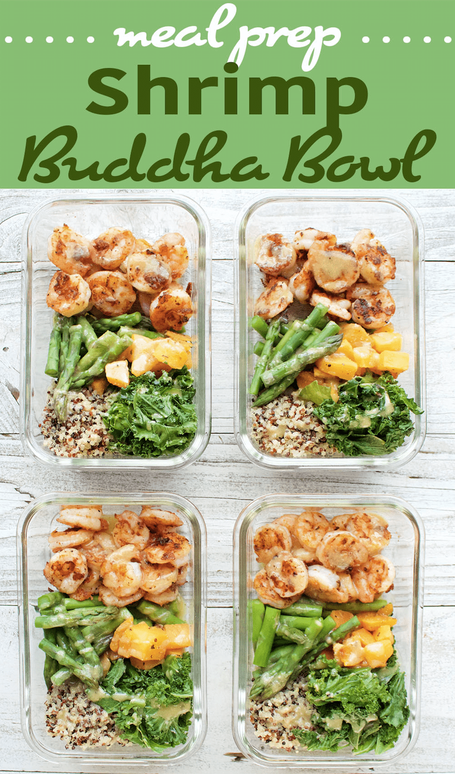 Shrimp Buddha Bowl Recipe Peanut Butter And Fitness Meal Prep
