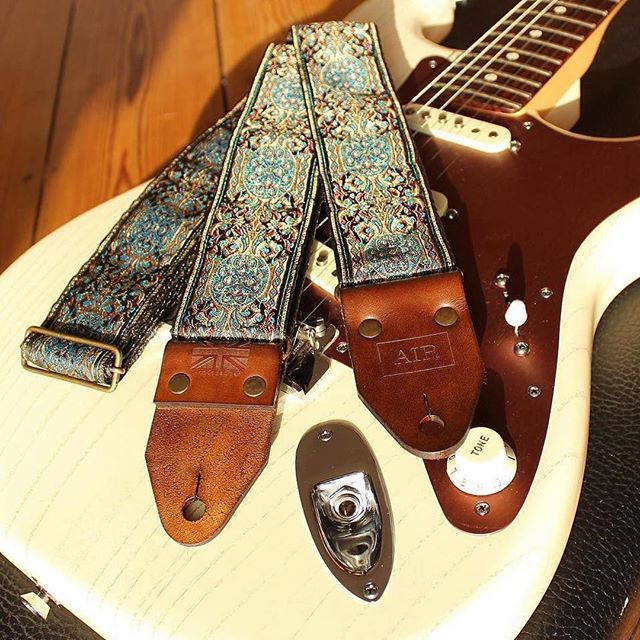 52 99 Vintage Guitar Strap Handcrafted In The Uk Guitar Strap Vintage Guitar Strap Guitar