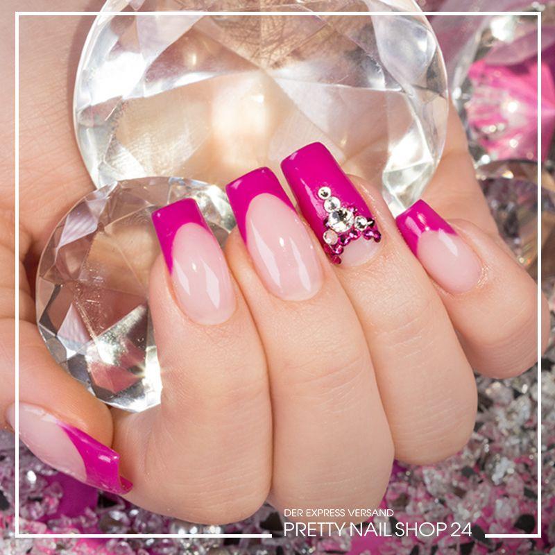 Trendstyle Trends Darkpink Nails Nailart Schon Frher Galt Das