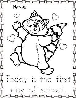 Descargar PDF The Raccoons Coloring Page | Insidersc