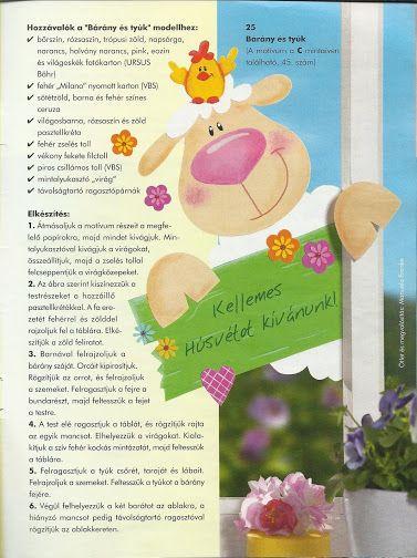 Kreatív ötletek - No. 18 - Ablakképek - Kellemes Húsvéti Ünnepeket! – Kinga újság – Webová alba Picasa