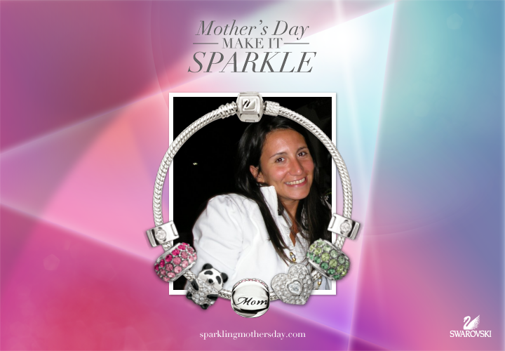 I've turned my photo into a sparkling style statement for Mother's Day!    http://sparklingmothersday.com #mothersday #swarovski