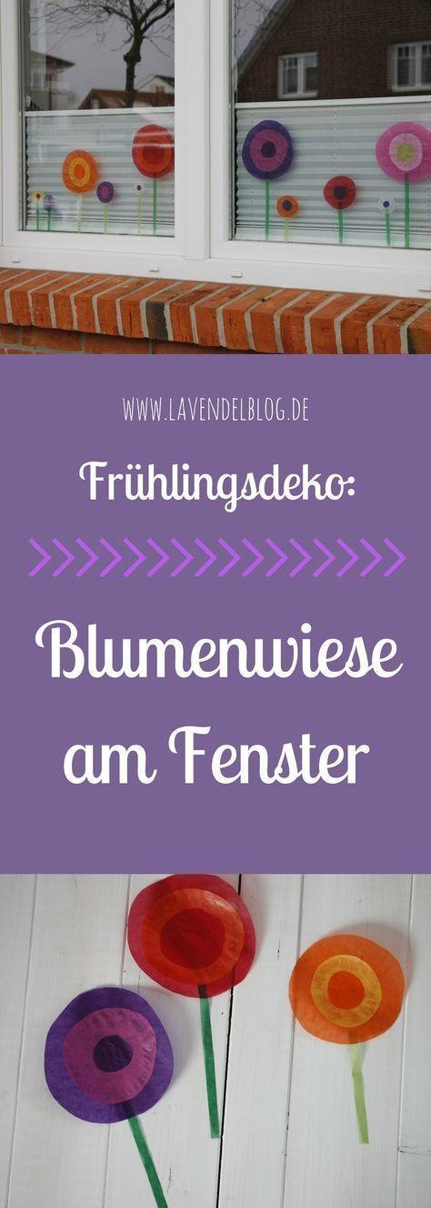 DIY-Idee: Frühlingshafte Fensterdeko und Ulalü Kindermode - Lavendelblog #interessen