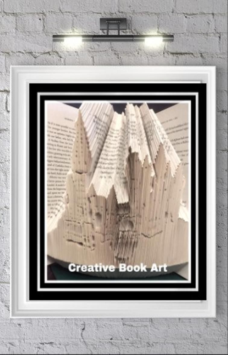 Paper Crafts Craftsy Book Folding Patterns Book Folding Folded Book Art