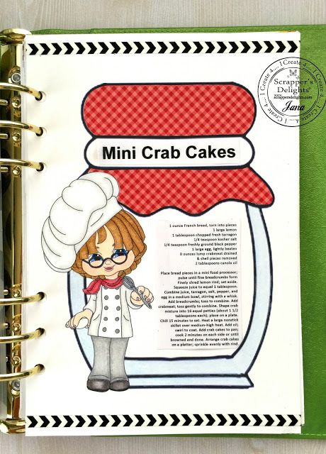 Scrapper S Delights July New Release Event Scrapbook Recipe Book
