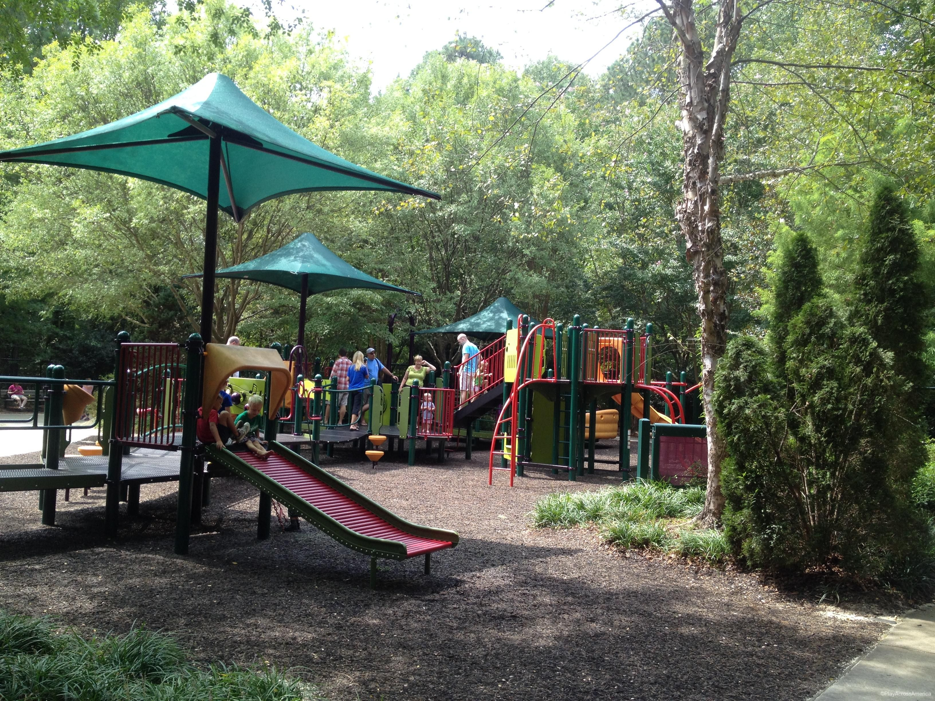 Kids Together Playground at Marla Dorrel Park Cary, NC | North ...